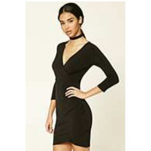 NWT F21 LONG SLEEVE SEXY DATE DRESS